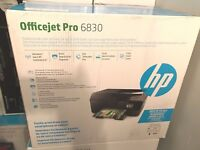 Brand New HP Officejet Pro 6830 Wireless All-in-one Inkjet Printer