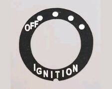 YAMAHA RD250 RD400 COFFIN TANK IGNITION  DECAL