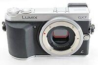 """NEAR MINT"" Panasonic LUMIX DMC-GX7 16.0MP Mirrorless Camera Body Black/Silver"