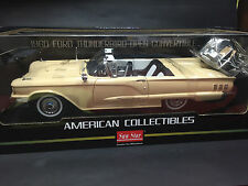 CLEARANCE 1:18 1960 FORD THUNDERBIRD open convertible Tawney Beige
