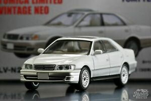 [TOMICA LIMITED VINTAGE NEO LV-N241a 1/64] TOYOTA CHASER 3.0 AVANTE G 1998 WH/SL