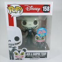 Funko Pop! Disney NYCC Exclusive Jack Skellington & Vampire Teddy #158