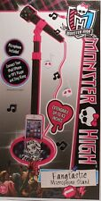 Microphone With Stand MONSTER HIGH Fangtastic Sing Along To Your MP3 Songs