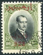 TURKEY-1928 2nd Izmir Exhibit 100 gr Sg 1065 FINE USED V29383