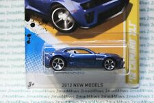 2012 Hot Wheels New Models dark blue '12 Camaro Zl1 9/50 moc 9/247