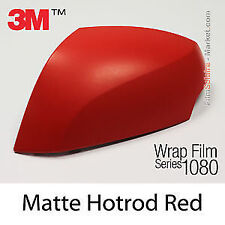 Genuine 3M 1080-M13 Matte Red Twin Stripes kit for Ford Mustang 2015+