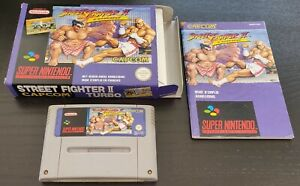 [Super Nintendo / SNES] Jeu Street Fighter 2 Turbo complet PAL (FAH)