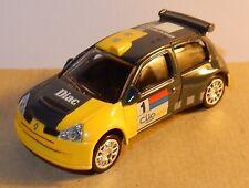NEUF NOREV 3 INCHES 1/54 RENAULT CLIO SPORT SUPER 1600 N°1 TEAM 2004 DIAC NEUF