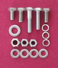 MGB 'B' series engine ALTERNATOR fittings  HEX HEAD BOLTS IN STAINLESS - B20E