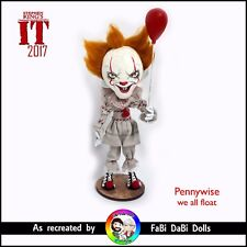 PennyWise the Dancing Clown - We all Float - Stephen King IT 2017 FaBi DaBi Doll