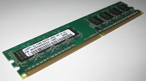 Samsung 512 MB DDR2 DIMM RAM Module - PC 4200 for Desktops - M378T6553CZ3-CD5