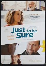 Just To Be Sure (2017) Australian One Sheet FRANCOIS DAMIENS