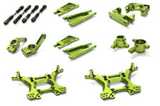 C26516GREEN Integy Billet Stage 1 Suspension Kit for Traxxas 1/10 Slash 4X4 LCG