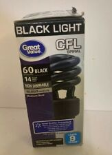 Black Light CFC Spiral 60 Watt Equivalent 739730