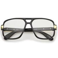 Aviator Plastic Frame Square Sunglasses for Men