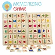 Right Brain Game Board - Picture Memorization Toy