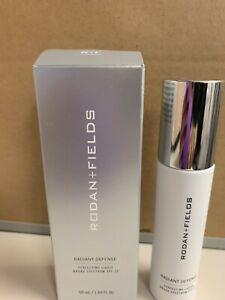 Rodan + Fields Radiant Defense Perfecting Liquid SPF15 Expresso 6 NEW UNOPENED