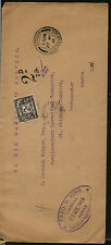 Great  Britain   official cover, postage due stamp,  1915           MS0224