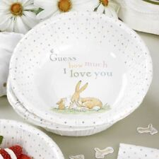 Guess How Much I Love you Paper Bowls x 8 Birthday Christening
