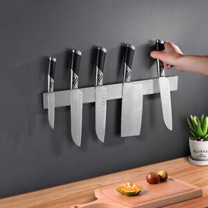 Magnetischer Messerhalter selbstklebend Messerleiste Edelstahl Magnetleiste DHL