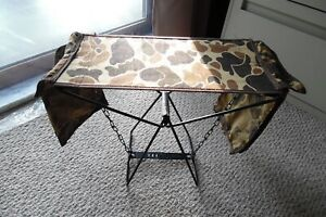 Ultra-Compact Folding Hunting / Camping Chair / Stool - Camouflage Pattern