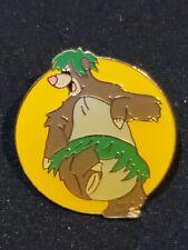 Disney pin Disney Channel 10th Anniversary 1993 vintage Baloo Jungle book c30