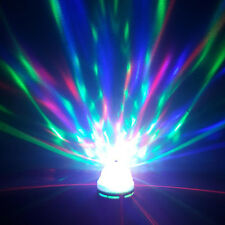 Colorful Auto Rotating RGB LED Bulb Stage Party Light Disco Lamp Home lighting