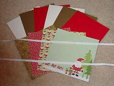 Stampin Up & The Paper Studio Woodland Wonderland Animals Card Kit *6* Brand New