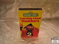 Sesame Street - Learning About Numbers (VHS, 1996)