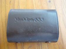 Vintage Yashica 635 TLR Camera 35mm Film Adapter Kit In Leather Case