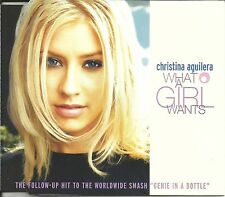 CHRISTINA AGUILERA What a Girl Wants w/ EDIT & MIX & UNRELEASED CD Single SEALED