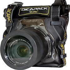 DSLR Camera Underwater Housing Case Bag Waterproof for Nikon D3000 D5000 D7000