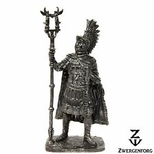 "Tin Toy SOLDIER 54mm ROMAN Emperor CARAUSIUS Ancient ROME 1/32"" Metal Tin Figure"