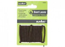 Heavy Duty Brown Boot Laces Summit Walking Hiking 120cm Long Strong