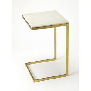 Butler Lawler Modern End Table, Gold - 9349025