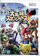 Used Wii Super Smash Bros  NINTENDO JAPAN JP JAPANESE JAPONAIS IMPORT