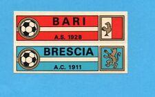 FIGURINA PANINI CALCIATORI 1970/71- BARI+BRESCIA -SCUDETTO-CON VELINA
