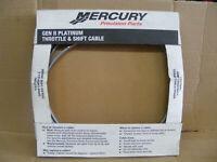Gen 2 8M0082538 MERCURY Quicksilver OEM GEN II Throttle Shift Cable 15/' Foot