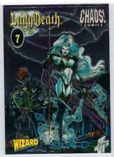 Lady Death Wizard Chromium PROMO card #7.