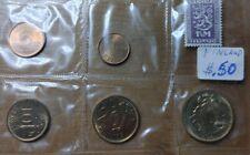 1964 FINLAND 5 Coin UNC Mint Set