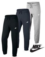 Nike Mens Club Pants Fleece joggers Sweat Bottoms Black Grey Navy Med Large XL