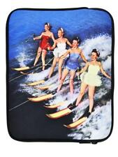 4-OK Surfer Neopren Hülle Tasche Etui Schwarz für Technaxx BigTAB 9.7 Tablet PC