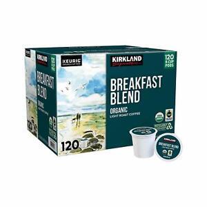 Kirkland Signature Breakfast Blend Light Roast Coffee - 120 K-Cup (AB condition)
