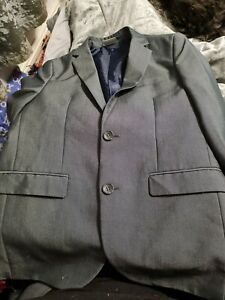 next boys two piece suit age 11 grey