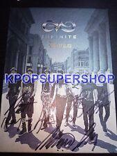 Infinite Single Album Vol. 2 Destiny Autographed Signed Promotional CD Photobook