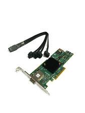 HP Raid Controller SAS9217 4i4e 725904-001 Incl. Cable Minisas 4x SATA 483508