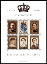 Luxembourg B16 -  DYNASTY CENTENARY  s/s    1990 - **MNH