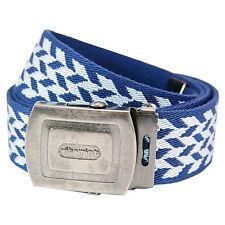 Patrón Belt-Azul Y Azul Cielo Cool Retro De Diseño De Moda