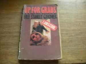 UP FOR GRABS Corgi 1966 paperback book A A Fair Erle Stanley Gardner