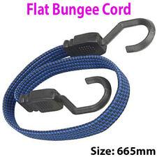 665mm Flat Bungee Cord/Band – Elastic Luggage Rope Straps – Car/Bike Tie Stretch